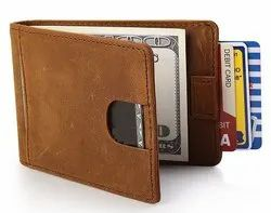 Men''S Leather Money Clip Wallet