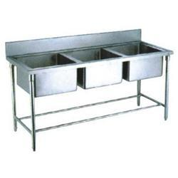 Stainless Steel 4 3 Sink Unit