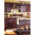 Wooden Colour Kitchen