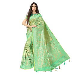 1852 Traditional Jacquard Silk Saree