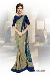 Exclusive Uniform Fancy Saree