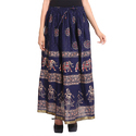 Cotton Jaipuri Casual Skirts