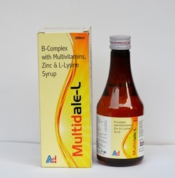 Vitamin B Complex with L Lysine Syrup