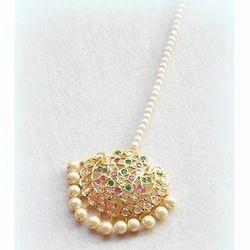 Pearl Maang Tikka