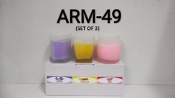 Perfumed Glass Candle (Set Of 3)