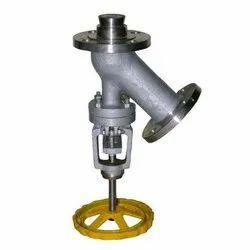 Flanged End CS Flush Bottom Valve