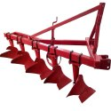 Mild Steel 5 Furrow Agriculture Plough