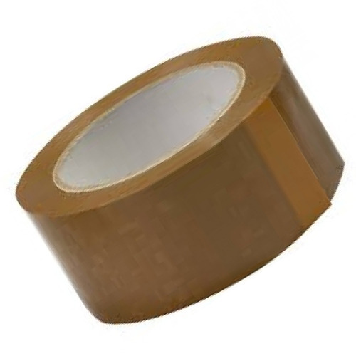 BOPP Plain Brown Packaging Tape, Packaging Type: Carton Box