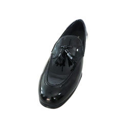 Mens Black Loafer Shoes