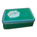 Rectangular Tin Container
