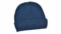 Blue VP Oswal Woolen Cap