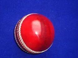 GOALSEEKER Leather Cricket Ball, Size: Normal