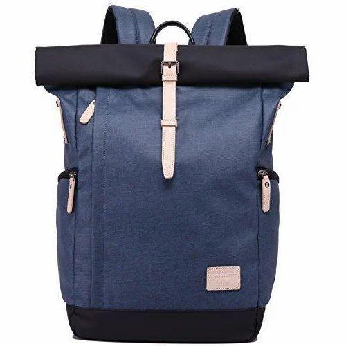 1d9ba68eb47d Kaka Blue Rolltop Backpack