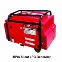 3 Kva Silent Lpg Generator, Voltage: 220 V