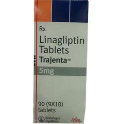 Linagliptin Trajenta Tablets, Packaging Size: 90 Tablets, Packaging Type: Bottle