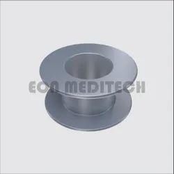 ENT Tita Prosthesis Vent Tube Type Collar Button for Hospital