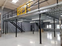 Single Tier Mezzanine Floor