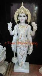 Marble Vishnu Garud Statue