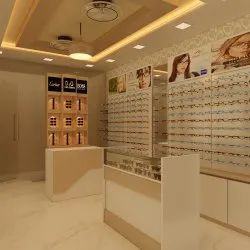 Unique Optical Showroom Interior Design - New