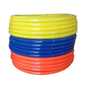 Blue Color Pvc Braided Water Hose, Size: 1 Inch-2 Inch