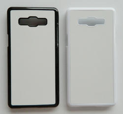 White And Black Plastic Sublimation Samsung Galaxy A5 2d Mobile Cover