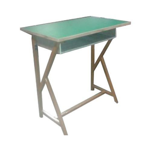 Wood Green Brown Small Study Table