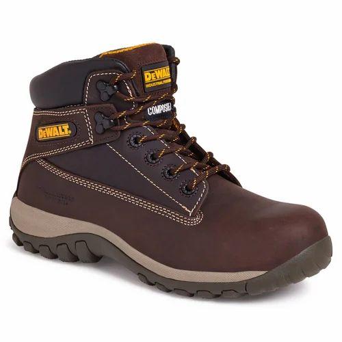 Leather Dewalt Safety Shoes, Rs 1399