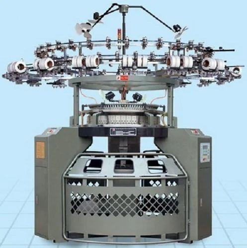 Semi Automatic Single Jersey Circular Knitting Machine Capacity