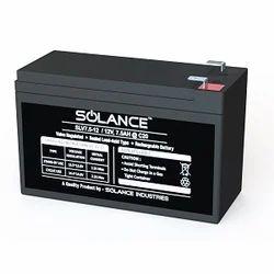 Solance Battery 12V 7.5AH