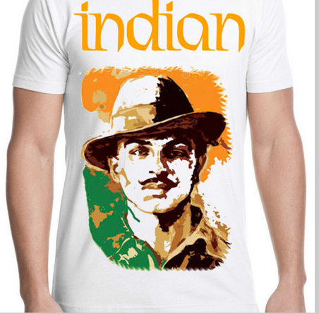 7db456100 Bhagat Singh Tshirt - View Specifications & Details of T Shirts by ...