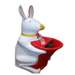 Rabbit Fiber Dustbin