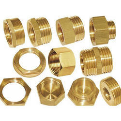 Round Brass Pipe Fittings
