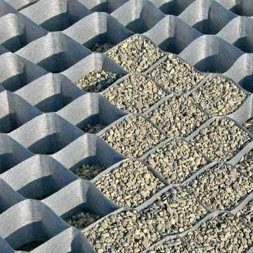 Polyester Ground Grid Geo Cell 150 Mm Ocean Non Woven