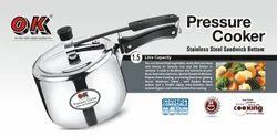 Stainless Steel Standard Shape 1.5 Ltr Pressure Cooker