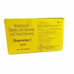 Multivitamin Tablets With Minerals And Trace Elements, Prescription