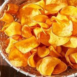 Fried Salty Potato Chips