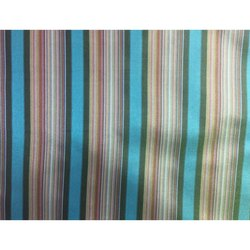 Poly Silk Stripe Fabric