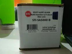 Strobe STI Alarm Mini Controller, 9 Or 12vdc, Model Name/Number: STI-SA5000-B