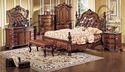Aarsun Wood Antique Bedroom Furniture Set, For Home