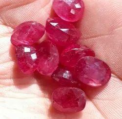 Natural Bangkok Ruby, Size: 6 To 10 mm