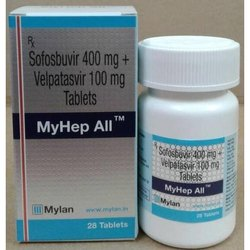 Myhep All Sofosbuvir & Velpatasvir Tablets