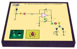 Op - Amp as Constant Current Source Trainer