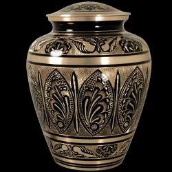 Brass Metal Biarritz Cremation Urn