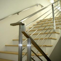 Modular Stainless Steel Staircase