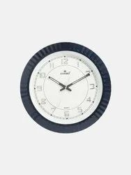 Analog Plastic and Glass 2225 Wall Clock, For Home and Offices, Size: 305x305 Mm