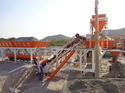 Mobile Batching Plant With Pan Mixer