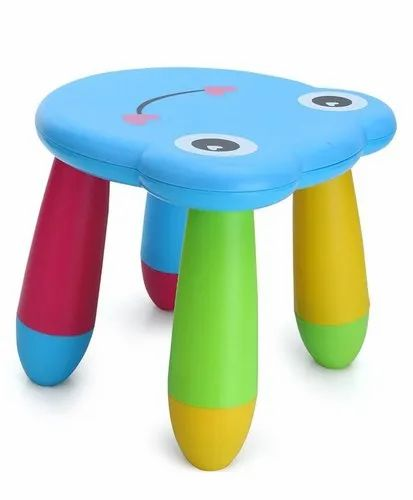 Astounding Plastic Chair Cat Face Print Stool For Kids Onthecornerstone Fun Painted Chair Ideas Images Onthecornerstoneorg