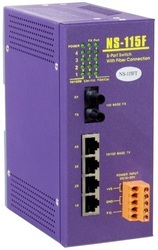 icpdas Unmanaged Industrial Fiber Switch