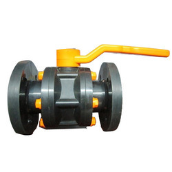 Plastic Flanged Ball Valve