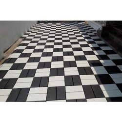 Black and White Combi Pavers